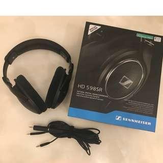 Sennheiser HD598 SR Open-Back Headphone (Special Edition)