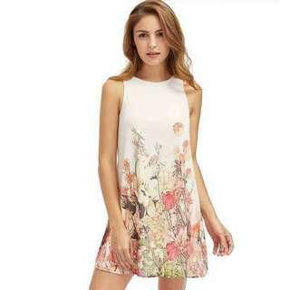 Floral dress/dia