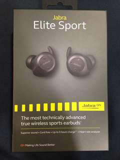 Jabra Elite Sport Bluetooth Earphones
