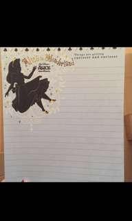 愛麗絲信封信紙