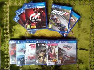 [New] Ps4 Games - GT Sports Gran Turismo PSVR MotoGP 18 Moto GP 18