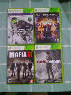 XBOX 360 VARIOUS TITLES