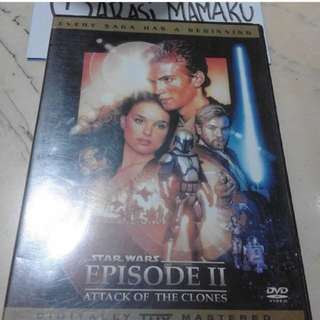DVD STAR WARS EPS II ORIGINAL