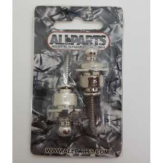 Nickel Strap Lock System (by Allparts)