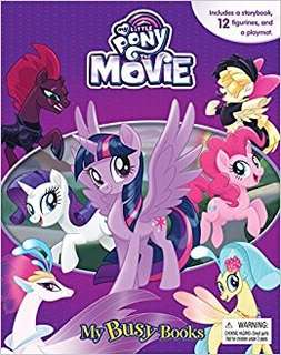 🚚 (Pre-Order) My Little Pony The Movie My Busy Book