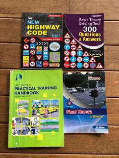 Driving Theory Books BTT & FTT (Highway Code)