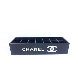 Chanel lipstick / makeup tray tempat makeup