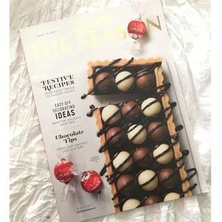 Lindt Chocolate Baking Cooking Recipes The Season Magazine