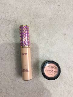 1 price 2 items (must take all): TARTE shape tape concealer + Catrice concealer cream