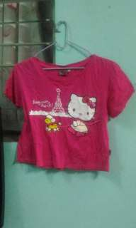 Hello kitty Cropped top