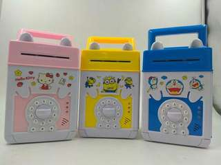 Tabung Cartoon Hello kitty, Doreamon, Minion
