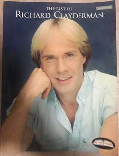 The Best Of Richard Clayderman Piano Solo Score Book