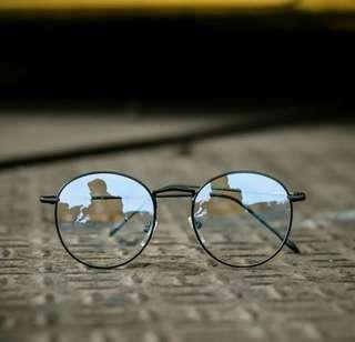 Kacamata Korea/Kacamata Hits/Kacamata Vintage Kekinian/Kacamata Murah