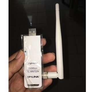 Wireless USB Adapter TL-WN722N tanpa tutup