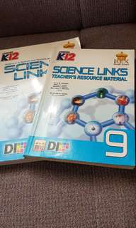 Grade 9 Science Links Teacher's Resource Material  and Student's Textbook