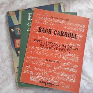 Bach Piano Scores