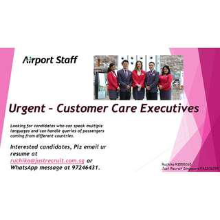 Customer Care Job At Airport