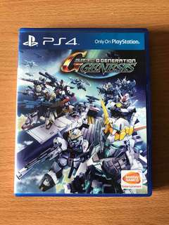 Ps4 SD Gundam G Generation Genesis