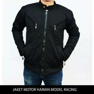 Jaket Motor Harian Model Racing Tahan Angin, Anti air, Bara