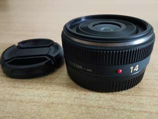 Panasonic Lumix G 14mm f2.5 Pancake Lens