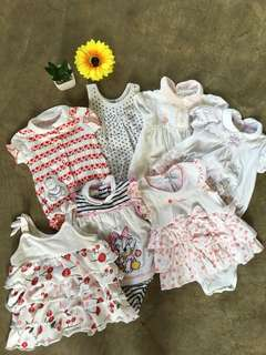 Bundle Branded Clothes For Baby Girl 🍒