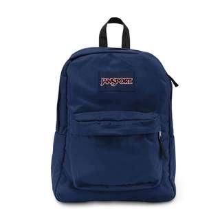 JANSPORT BAG - NAVY BLUE