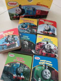 Thomas and friends block books
