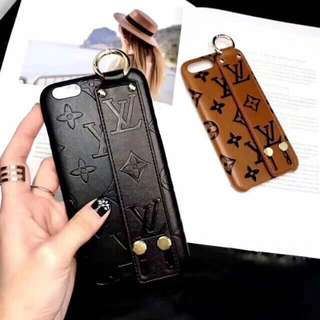 LV Strap Leather case Iphone