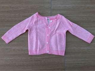Oshkosh Bgosh Pink Cardigan