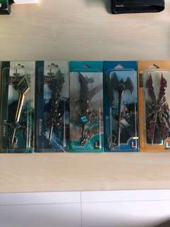 League of Legends Keychain/ Sword