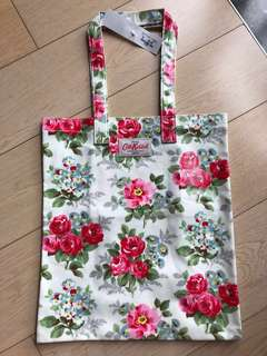 Cath Kidston Book Bag, Regal Rose White