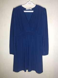 Long sleeves long blouse / short dress
