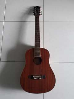 Sqoe travel guitar 3/4 size