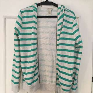Forever 21 Striped Jacket