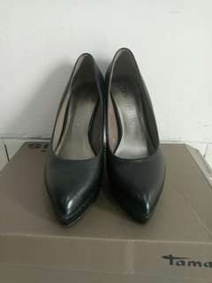 high heels Tamaris leather 10cm