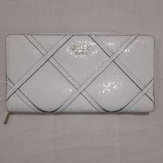 Guess Winnett SLG Monogram Zip Around Wallet
