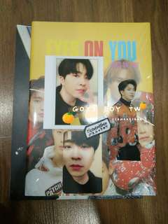 GOT7 EYES ON YOU Youngjae SET Taiwan Press