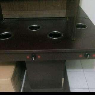 四孔火鍋桌