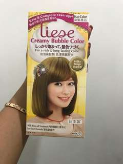 Liese hair color japanese brand