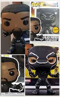 Funko Pop Marvel Black Panther #273 + Chase