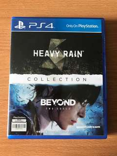 Ps4 Heavy rain + beyond 2 soul collection
