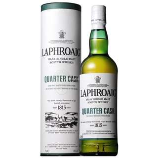 Laphroaig Quarter Cask Single Malt Whisky 拉弗格4分之一桶單一純麥威士忌 - 70cl