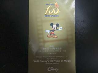 Disney Post Card 100 Anniversary