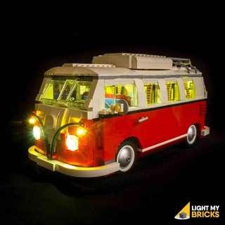 Light My Bricks Volkswagen T1 Camper Van