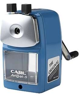 (205) CARL Angel-5 Pencil Sharpener - Blue