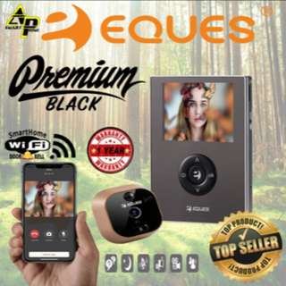 Eques VEIU Mini Smart Wifi Doorbell ( R21 ) Premium  Black