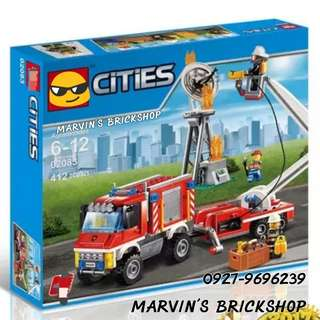 For Sale City Fire Utility Truck Building Blocks Toy