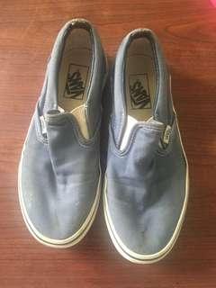 Authentic Vans slipon shoes