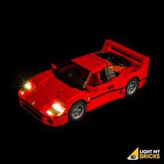 Light My Bricks Ferrari F40
