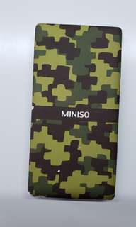 Miniso LIMITED Edition Camo Power bank